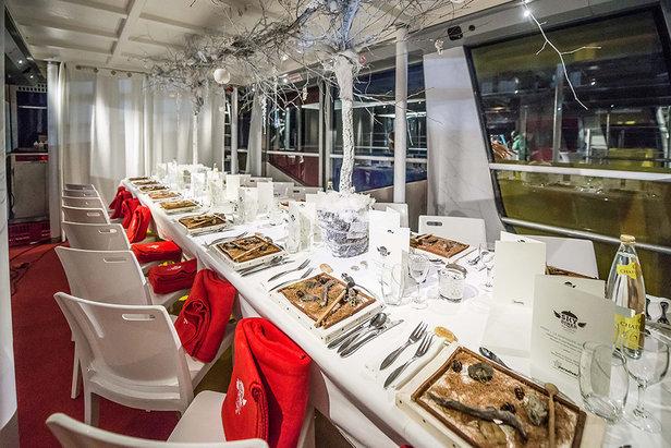 Profitez d'un dîner gastronomique dans un cadre insolite : une télécabine !  - © Andy Parant