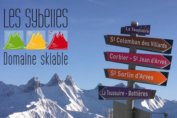 A la découverte du domaine skiable des Sybelles