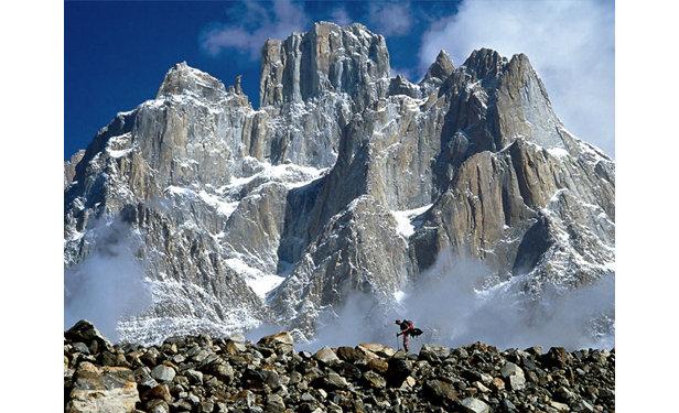 Schon der Anmarsch zu den Trango Towers lässt jedes Kletterherz höher schlagen... (Siehe Berichte Juni 2008)