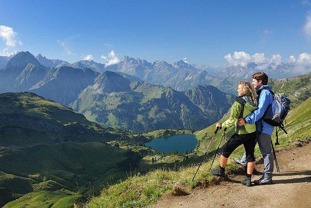 Wanderurlaub in Oberstdorf: Wandern in drei Höhenlagen - ©Oberstdorf