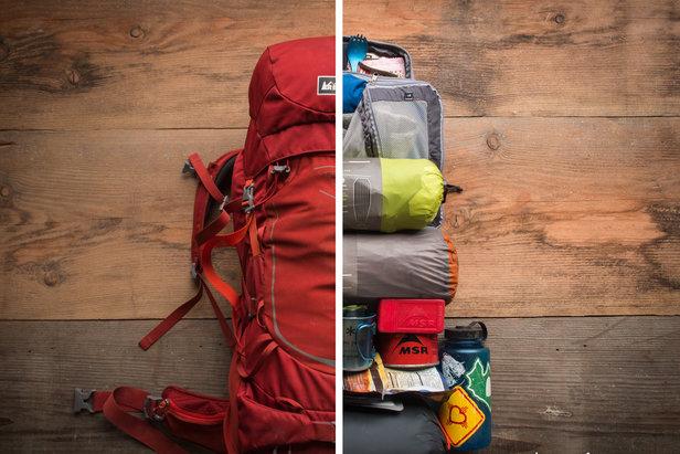 Wer den Rucksack richtig packt, spart sich auf Tour viel Stress - ©REI