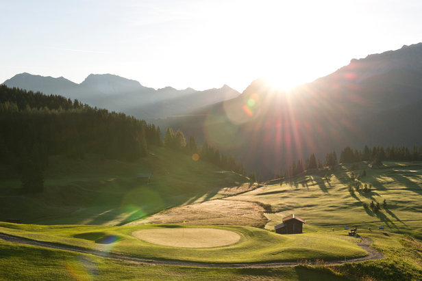Golfplätze in den Alpen: Die schönsten Plätze oberhalb von 1500 Metern- ©Graubünden Ferien | Alfonso Smith