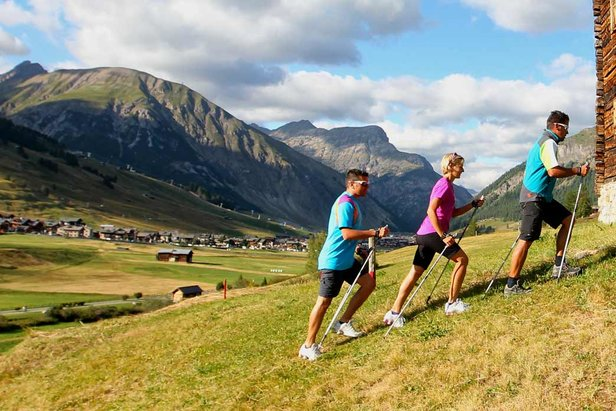Estate a Livigno - Nordic Walking