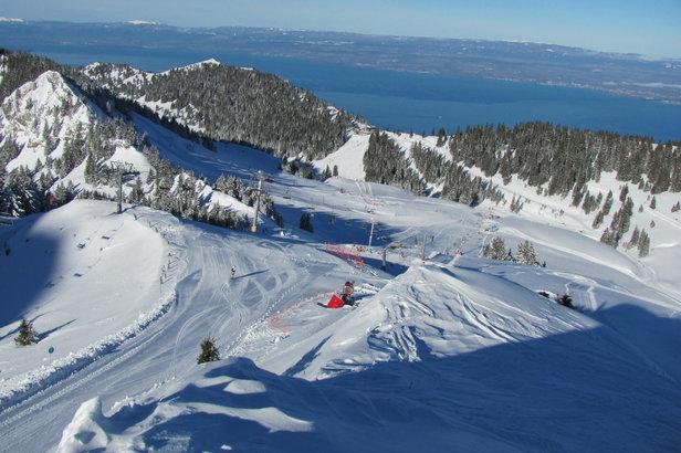 location ski thonon