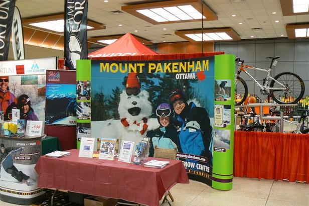 Ottawa Ski Show Mount Pakenham Booth (Medium)