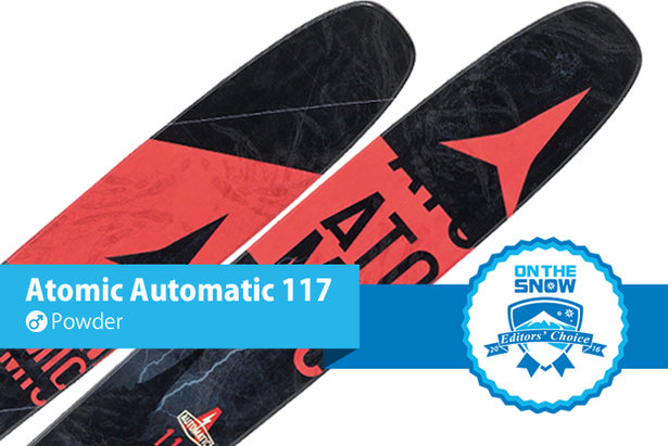3 2015/2016 Primo Powder Skis for Men