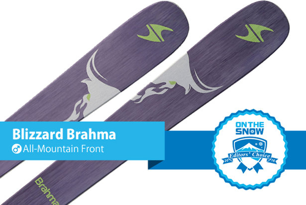 Blizzard Brahma: Editors' Choice, Men's All-Mountain Front