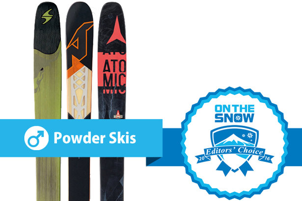 Men's 2015/2016 Editors' Choice Powder skis
