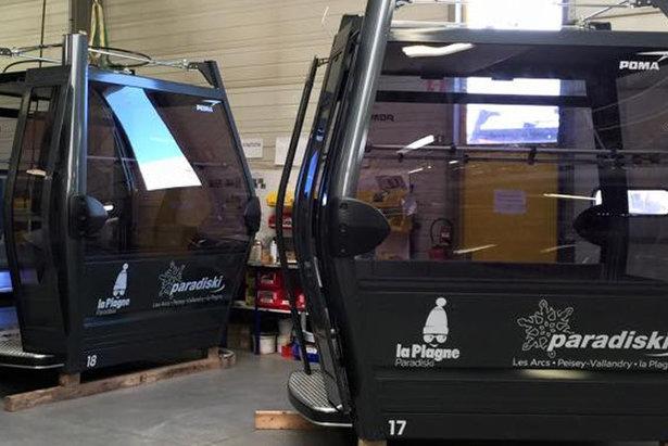 Nová gondola Montalbert v La Plagne