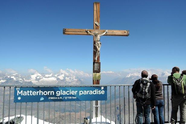 Z vyhlídky na Malém Matterhornu  - © Jaroslav Tuček