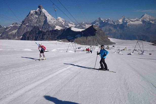 Na vlastní kůži: Přípravu jsme podcenili, ale letní lyžování na ledovci stálo za to!Jaroslav Tuček