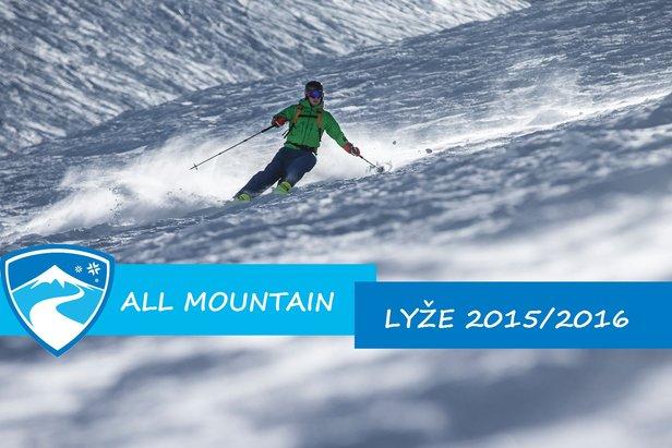 All-Mountain lyže 2015 2016  16 párov v našom skiteste- ©OnTheSnow 3e849904f3c