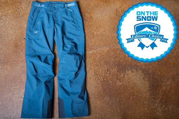 2016 men's pants Editors' Choice: Arc'teryx Chilkoot Pant