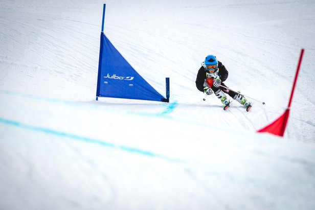 A l'image de l'Alpe d'Huez, de plus en plus de stations organisent chaque hiver des compétitions sportives réservées aux enfants  - © Laurent SALINO / Alpe d'Huez Tourisme