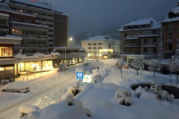 Schneebericht: Starke Schneefälle nach Wintereinbruch, zahlreiche Skigebiete öffnen - ©Engelberg Facebook