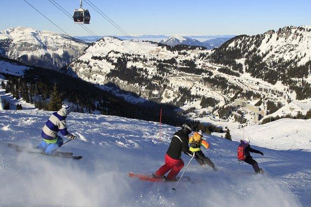 Les pistes de ski de Flaine n'attendent que vous. Rendez-vous le samedi 5 décembre pour la pré-ouverture !