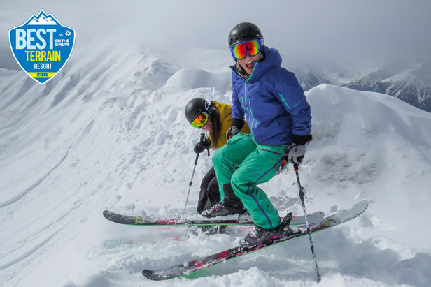 Best Ski Resort Terrain for 2015  Lake Louise 57dbf3415
