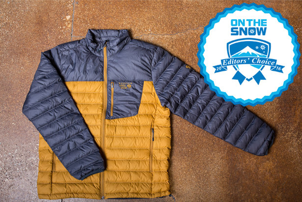 2016 men's lifestyle Editors' Choice: Mountain Hardwear Dynotherm Down Jacket