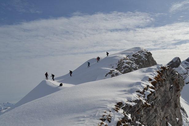 Schneeschuhwandern am Gottesacker - ©Kleinwalsertal