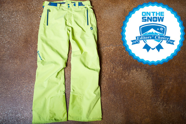 2016 Men's Pants Editors' Choice: Scott Ultimate GTX Pant- ©Liam Doran