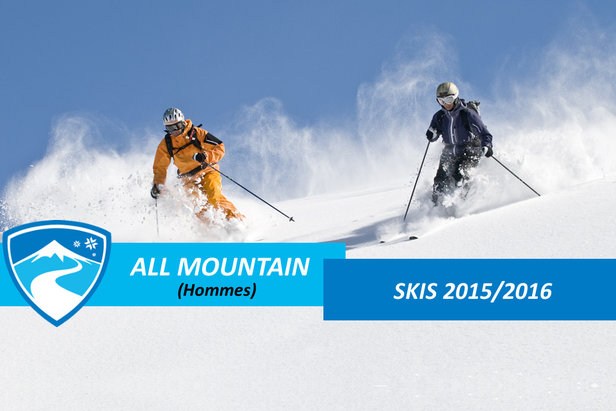 Skis all mountain hommes 2016 - ©ARochau - Fotolia.com
