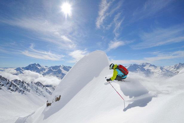 Raport śniegowy: w Polsce, Słowacji i Czechach można już śmigać, w Alpach po zimie przyszło ocieplenie- ©St. Anton am Arlberg