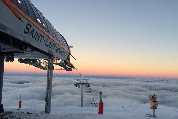 Saint Lary à l'aube d'une nouvelle saison de ski qui débutera dès ce week-end !