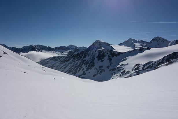 Im Aufstieg zur Finailspitze (3514m)  - © Erika Spengler