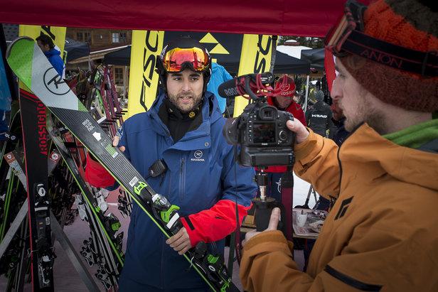 Impressionen vom AllonSnow Skitest in der Skiwelt Wilder Kaiser Brixental (11./12.1.16)