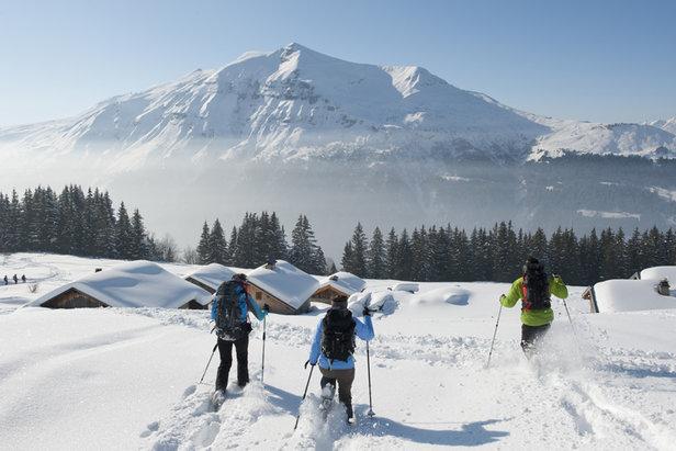 Partir au ski sans skier, c'est tendanceOffice de Tourismes des Contamines
