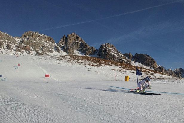 Lindsey Vonn si allena a San Pellegrino!  - © Skiareasanpellegrino.it