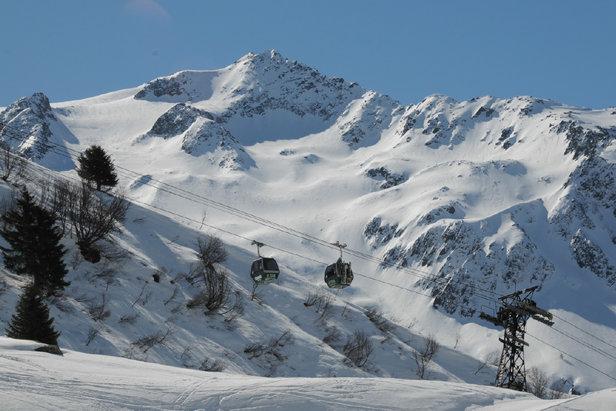 Balme (Le Tour‐Vallorcine), ultime domaine skiable de la vallée de Chamonix avant la frontière suisse