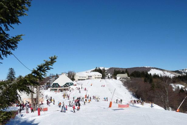 station de ski de la Croix de Bauzon