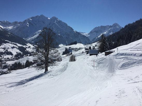 Schneebericht: Kein Frühling in Europa, massenhaft Schnee in den Südalpen!- ©Skjcentrum Říčky nad Orlicí - facebook