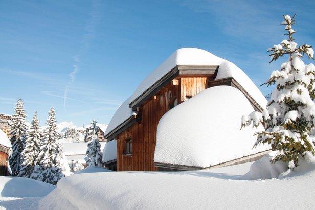 Schneebericht: Kein Frühling in Europa, massenhaft Schnee in den Südalpen! ©Avoriaz facebook