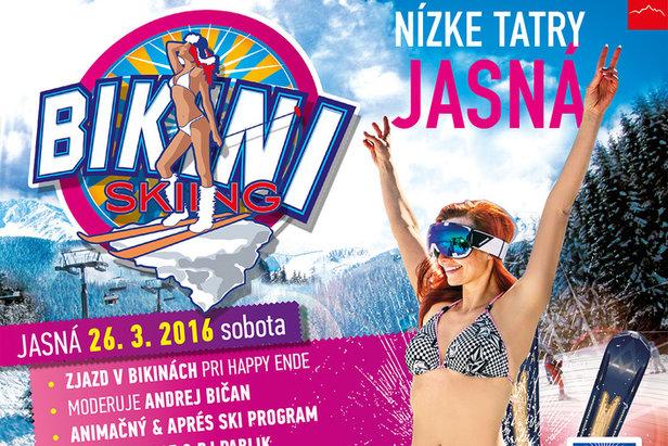 Narty w bikini w Jasnej