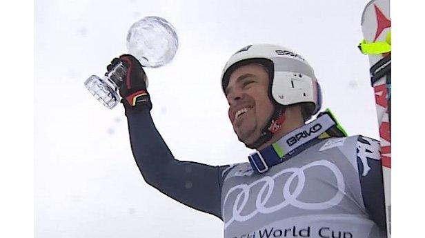 Peter Fill vince la Coppa del Mondo di Discesa