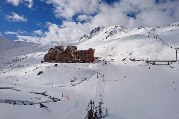 Excellentes conditions de ski au départ de la Mongie, sur le domaine du Grand Tourmalet