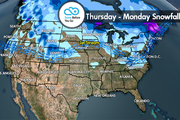 Snow Before You Go: Snow for Rockies & Northeast- ©Meteorologist Chris Tomer
