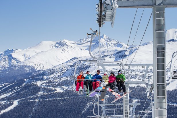 Infographic: Resorts With the Most Trails & Lifts - ©Paul Morrison/Whistler Blackcomb