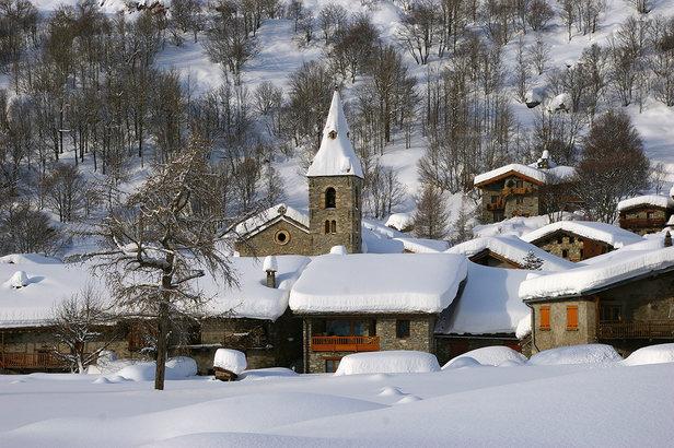 """Bonneval sur Arc, seul village en Savoie classé parmi les """"Plus Beaux Villages de France"""""""