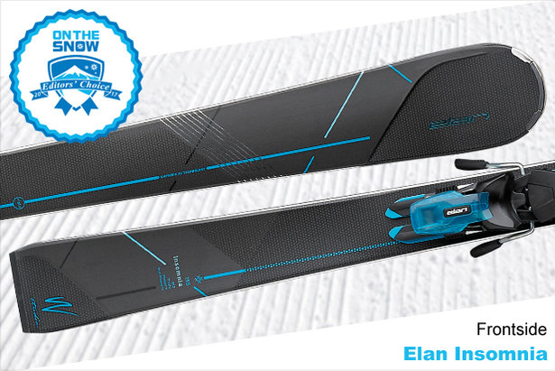 Elan Insomnia, women's 16/17 Frontside Editors' Choice ski.  - © Elan