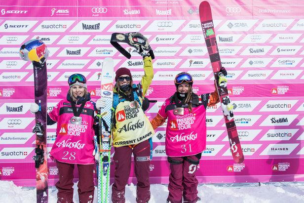 Bei den Ski-Damen siegte Eva Walkner in Alaska