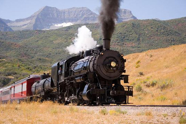Trains, Horses & Outlaws in Park City- ©Rocky Mountain Outfitters