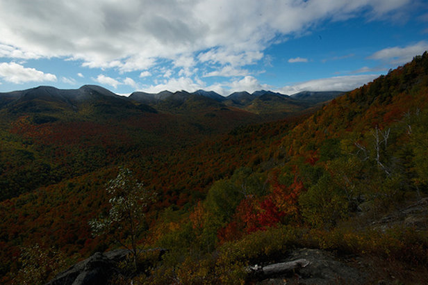 The Johns Brook Valley, an access point to several classic hiking trails in the High Peaks region.  - © Brendan Wiltse
