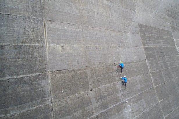 Klettersteig Interlaken : Neu in mayrhofen hippach: klettersteig an der schlegeis staumauer