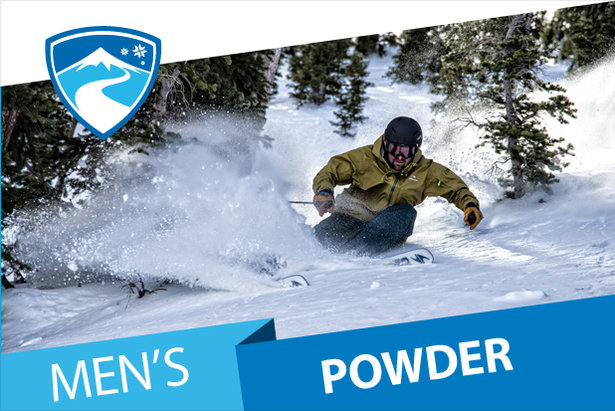 OnTheSnow men's Powder Ski Buyers' Guide 2016/2017.