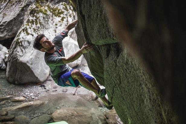 Im Zillertal Klettern und Bouldern Kletterparadies in