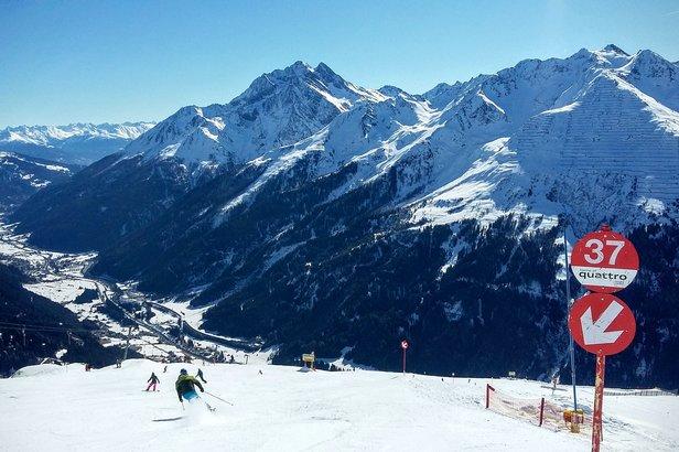 Trasy 37 i 25 z Kapalla w dużej części pokrywają się z przebiegiem tras, na których rozgrywane były St. Anton zawody w ramach narciarskich Mistrzostw Świata.  - © Tomasz Wojciechowski