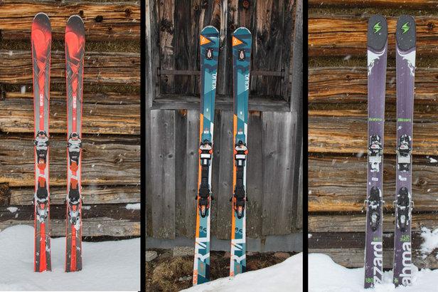 Testovali jsme: Allmountain lyže 16/17 - K2 iKonic 85Ti, Blizzard Brahma 88 a Völkl RTM 86 ©Skiinfo
